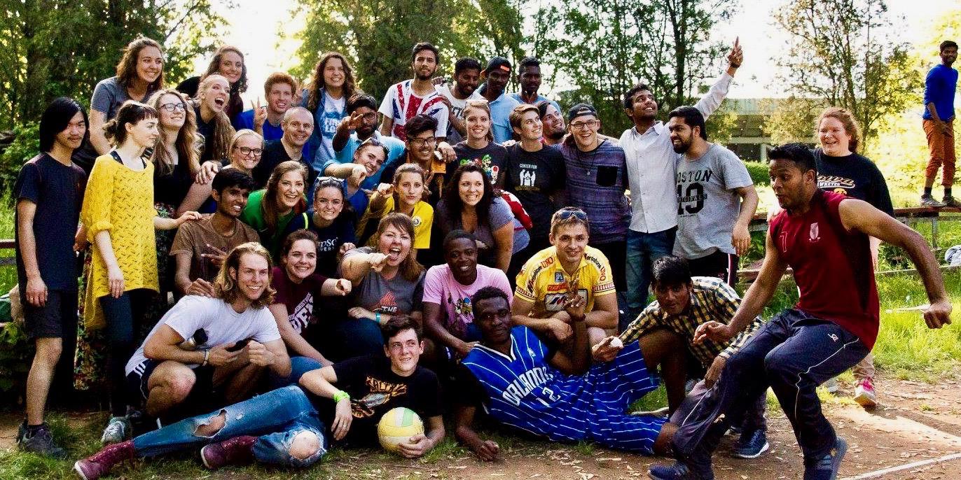 Photo of US and Ukraine University students