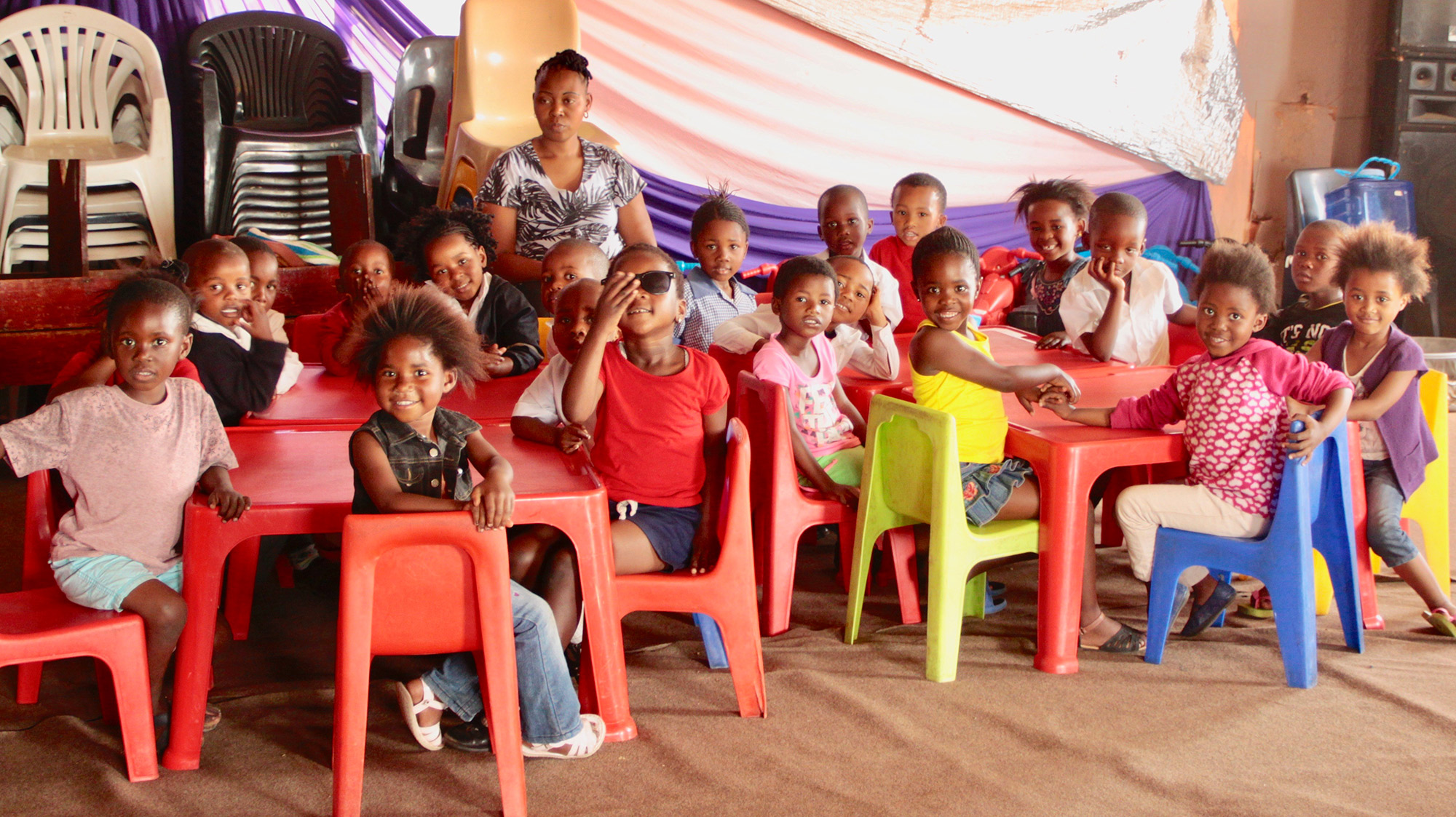 Children at a day care