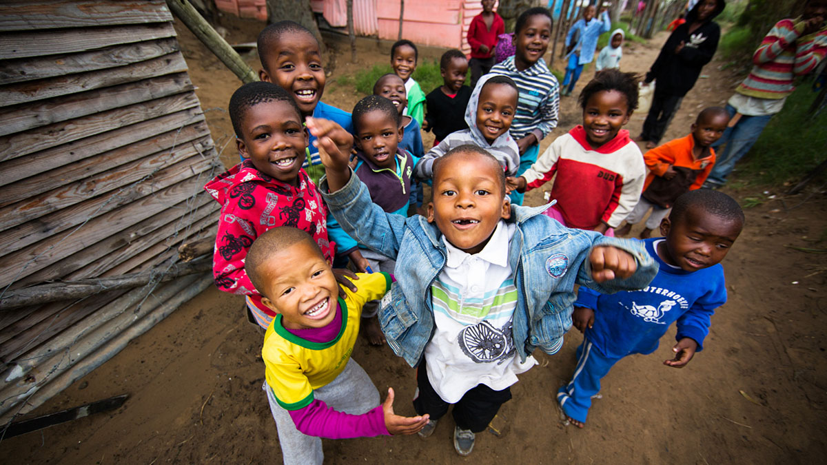 Children in South Africa