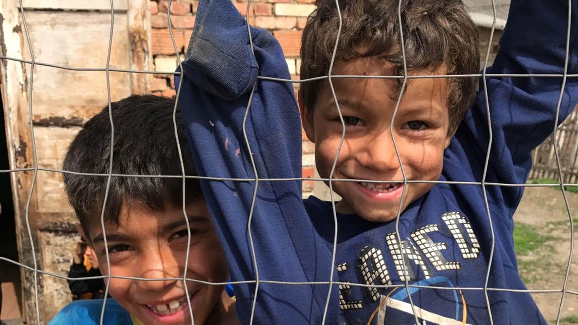 Photo of Roma children